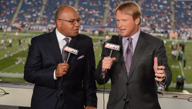 ESPN MNF Hosts Mike Tirico and Jon Gruden will set the stage tonight. Tirico says Bengals created ideal first half, but warns to remember only halfway home.