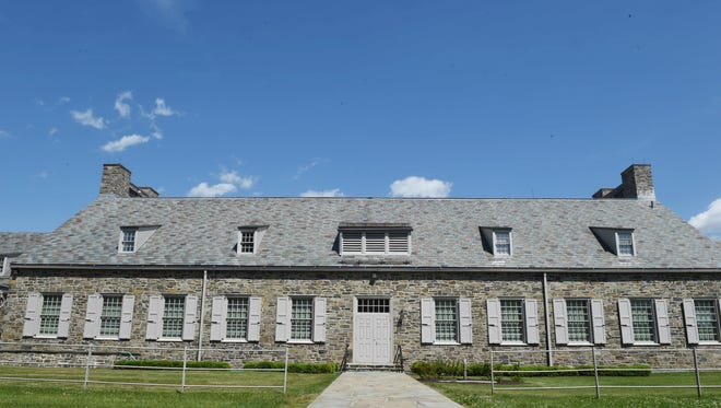 The FDR Presidential Library and Museum in Hyde Park.