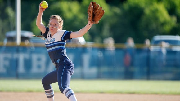 Enka senior Mariah Foxworth is the Mountain Athletic Conference Pitcher of the Year for this softball season.