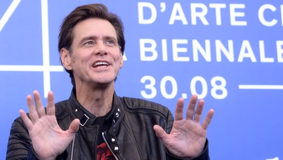 "Jim Carrey attends the photocall of the movie ""Jim"