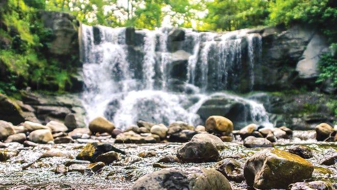 Natural beauty near Geneva.