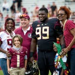 Nile Lawrence-Stample played his final game in Doak Campbell Stadium as FSU defeated Chattanooga 52-13.