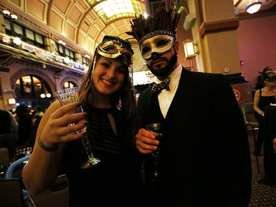 The New Year's Eve Masquerade Ball is an annual tradition at Grand Hall at Union Station.