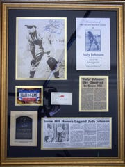 """""""Judy"""" Johnson memorabilia collected by Diana Purnell"""