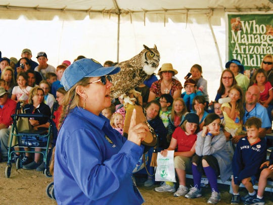 3/25-26: Arizona Game and Fish Outdoor Expo | See wildlife, fish and learn archery in a safe, supervised environment on the range. Instructors will also guide attendees through specialty shooting disciplines like clay target, cowboy action, practical pistol, black powder, and air gun. After the sports, watch a cowboy mounted shooting competition and check out more than 150 exhibitors.    Details: March 25-26. 9 a.m.-5 p.m. Saturday, 9 a.m.-4 p.m. Sunday. Ben Avery Arizona Shooting Range Facility, 4044 W. Black Canyon Blvd., Phoenix. Free. 623-582-8313, azgfd.gov/expo.