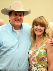Scott and Colette Chandler, seen in 2016, are plaintiffs in a federal lawsuit against a New Mexico State Police officer over an investigation into the Tierra Blanca Ranch's youth program.