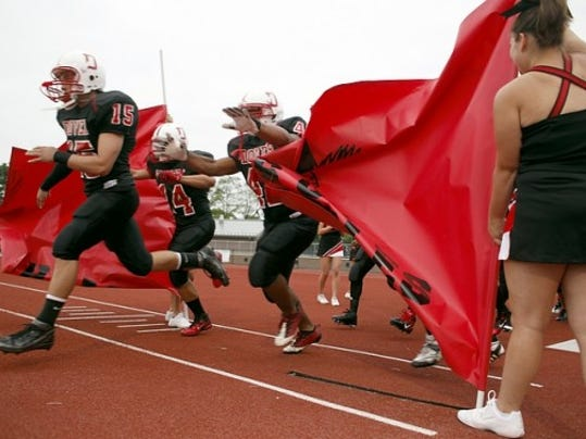 Dover routed Hanover, 49-6, in the teams' 2011 opener.