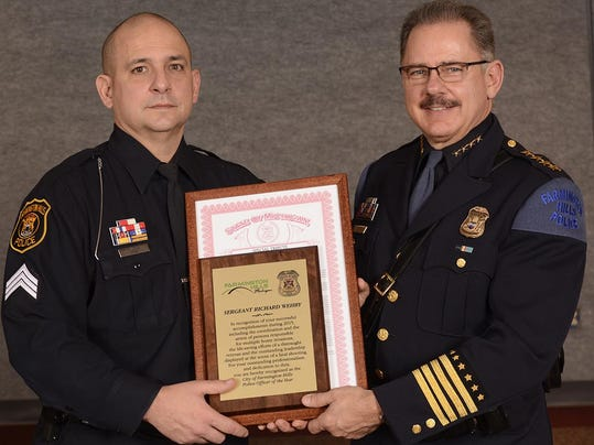 Sgt. Wehby and Chief Nebus