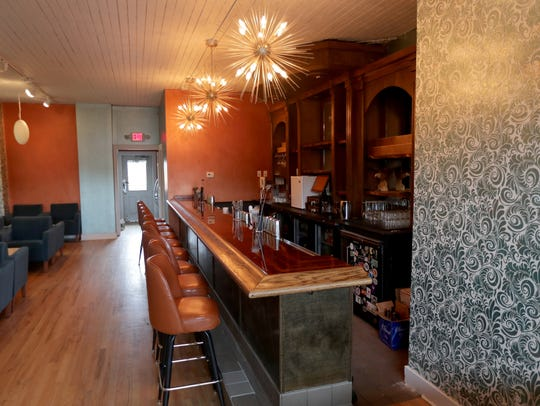 The bar area at the Lost Whale, opening in Bay View