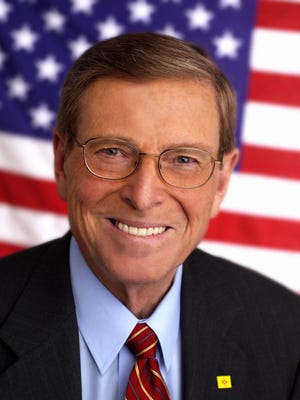 Former Republican New Mexico U.S. Senator Pete Domenici