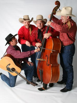 The Bar D Wranglers are featured Friday night at the Shindig with the Sheriff fundraiser at the McGee Park multi-use building.