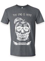 Armageddon Brewing T-shirts celebrate the slightly