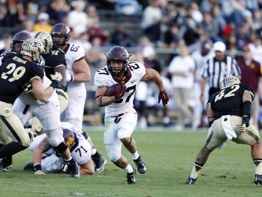 NCAA Football: Minnesota at Purdue