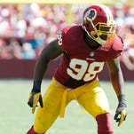 Linebacker Brian Orakpo is one of the free agency additions to the Titans defense.