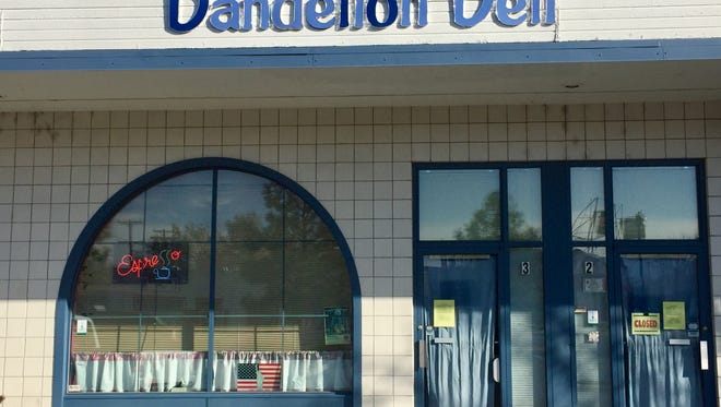 Dandelion Deli on South Wells Avenue just closed after more than 20 years in business. A second location of Walden's Coffeehouse will soon open at 1170 S. Wells Ave.