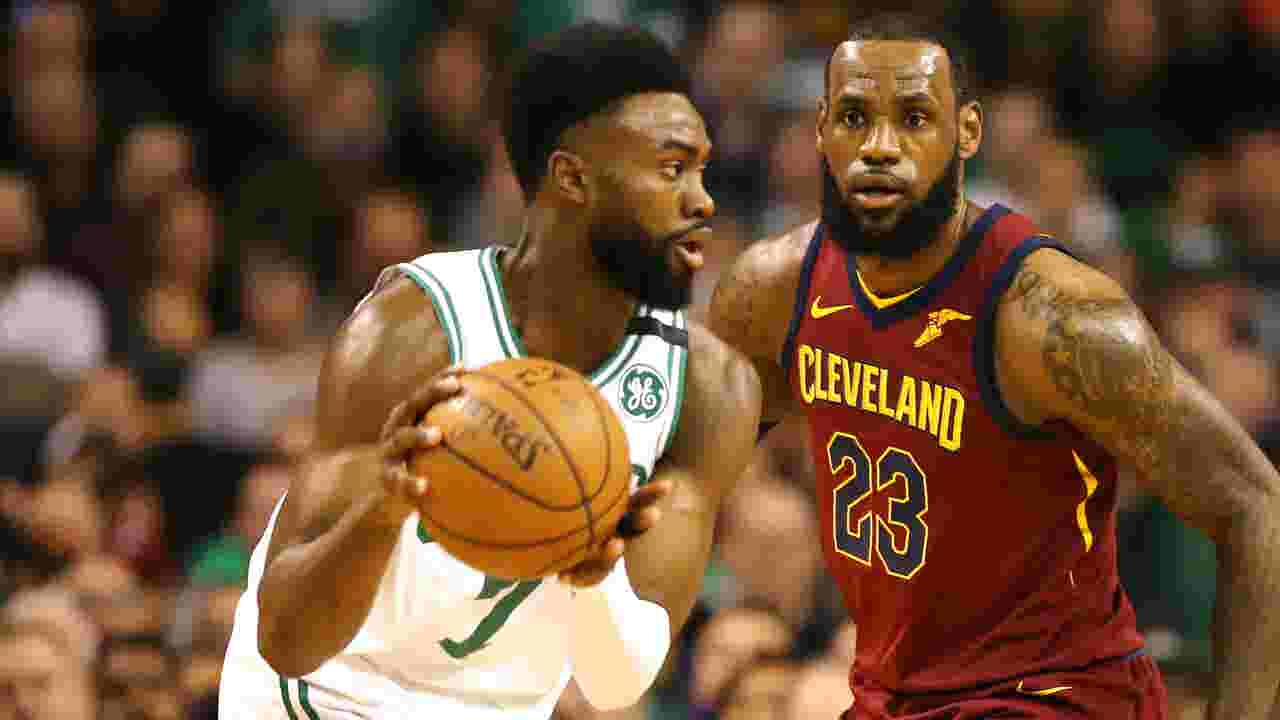 7b02b8f6b7f Celtics pound Cavaliers in Game 1 of Eastern Conference finals