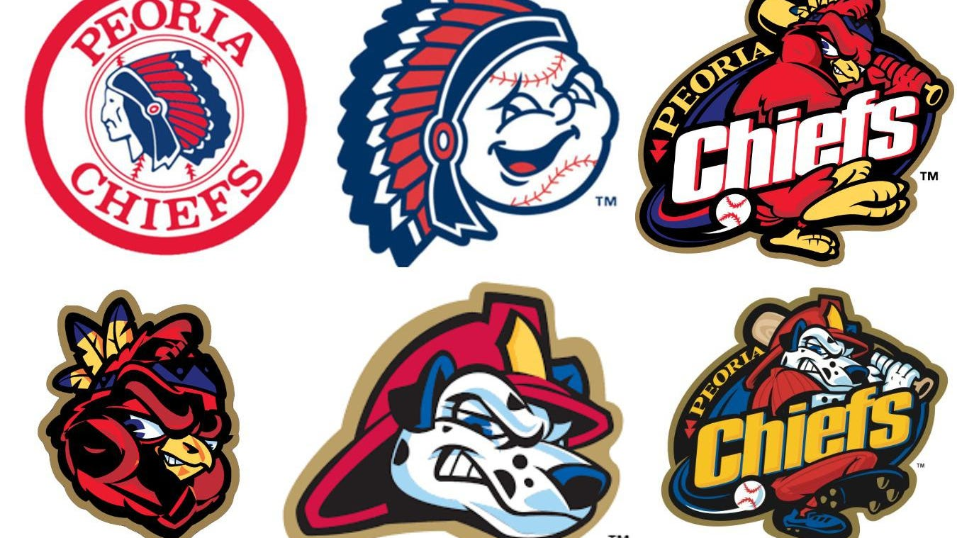 How the Peoria Chiefs long ago moved away from Native American imagery