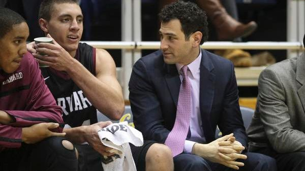 Yanni Hufnagel, who once broke down plays in great detail as a student-announcer at Scarsdale High, is shown during his years at Harvard, where one of the players he coached was Jeremy Lin.