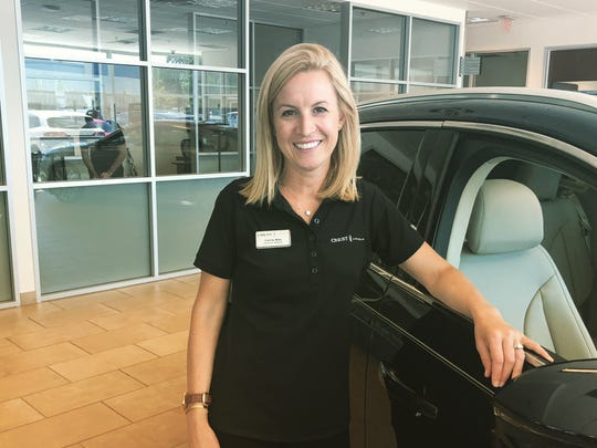Carrie Way, president of Crest Automotive Group in