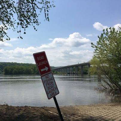 A family was thrown into the Susquehanna River Monday