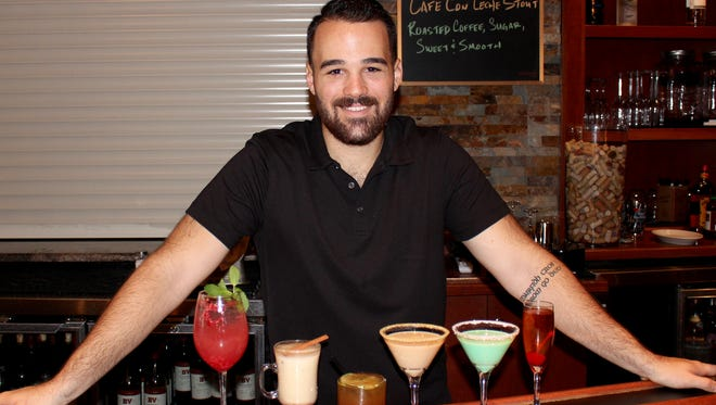 A.J. Davis, mixologist at The American Gastropub, offers up a few easy drink recipes to brighten your holiday celebrations.