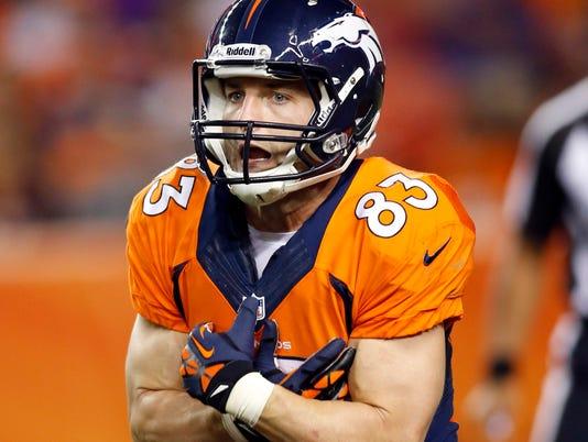 Broncos' Wes Welker suspended four games for taking amphetamine