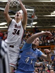 The SPASH Panthers play the Superior Spartans March
