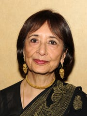 Actress Madhur Jaffrey. Her daughter and fellow actress Sakina Jaffrey lives in Nyack. Both mother and daugther have current projects on TV.