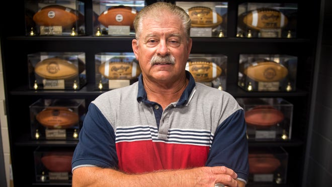 Alcoa High School football coach Gary Rankin.