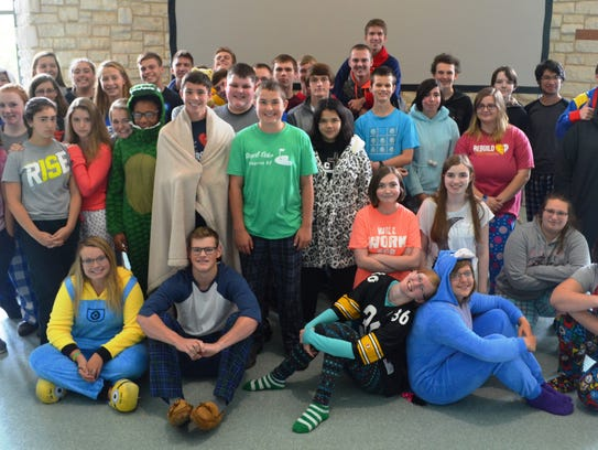 Homecoming week at Wisconsin Valley Lutheran High School