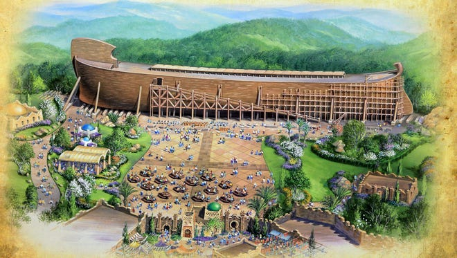 Kentucky has withdrawn its offer of tax breaks for a religious-themed park in Grant County that would feature a 500-foot-long wooden ark because its organizers plan to screen park employees based on religion.