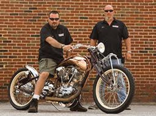 Greg Carter and Scott Fisher operate Vicious Cycles, Inc. will be one of this year's Gettysburg Bike Week 2015 bike build-off combatants.