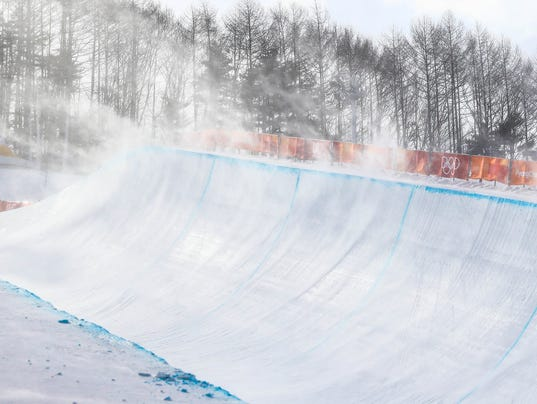 USP OLYMPICS: SNOWBOARD-WOMENS HALFPIPE QUALIFICAT S OLY KOR