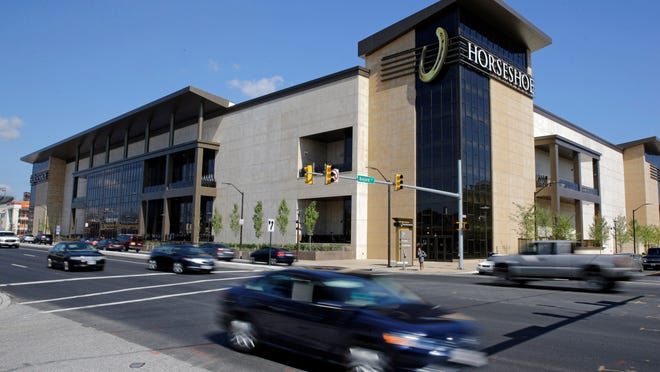 The Horseshoe Casino in Baltimore opened its doors Tuesday, the last of five to open in Maryland after lawmakers legalized gambling in the state.