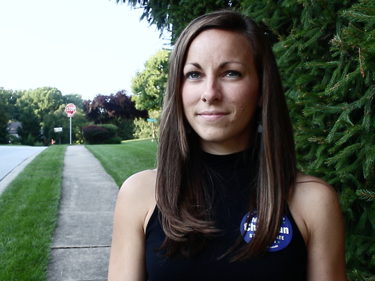 Meredith Chapman interviewed during her 2016 run for