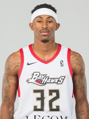 Craig Sword helped the Erie BayHawks earn a spot in the 2018 G League playoffs in his rookie season in the NBA's development league.