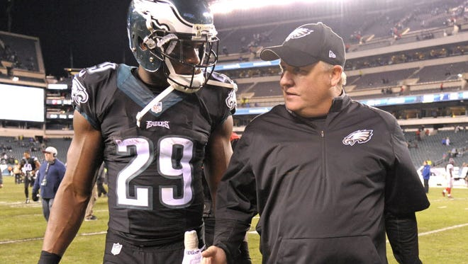 DeMarco Murray and Chip Kelly.