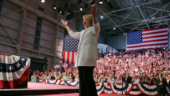 Hillary Clinton in New York on June 7, 2016.