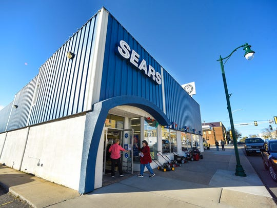 The Sears Hometown and Outlet store in Little Falls, shown Thursday, Oct. 12, will be the closest Sears store after the one in Crossroads Center closes.