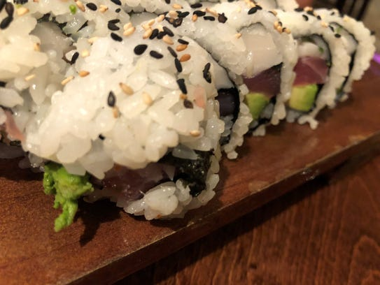 The kiss roll from Thai Sushi by KJ on Collier Boulevard,