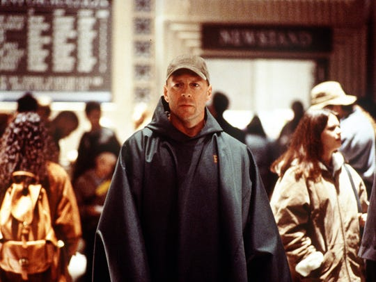 Bruce Willis starred as a Philadelphia security guard