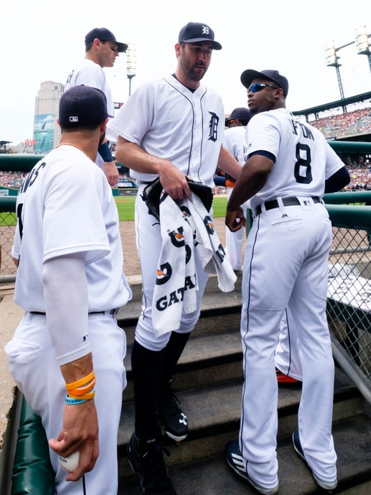 MLB: Cleveland Indians at Detroit Tigers