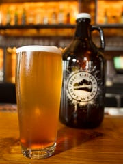 Big Grove Brewery's Que Sera Berliner Weiss is seen on Tuesday, Aug 5, 2014. David Scrivner / Iowa City-Press Citizen