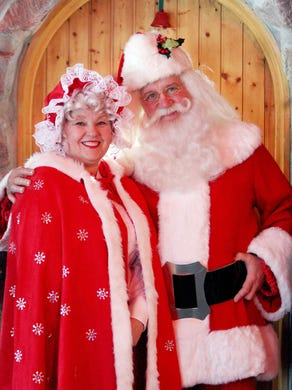 Mother Christmas.Santa School It S Hard Work To Be Father Or Mother Christmas