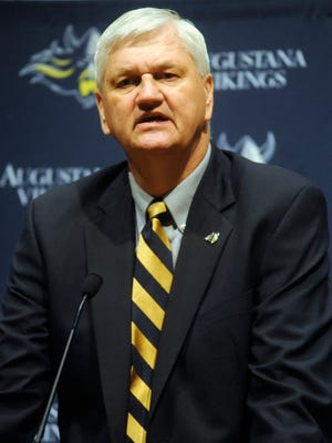 Bill Gross has been acting as the interim athletic director at Augustana since January. The school will interview four candidates for the job on campus next week.