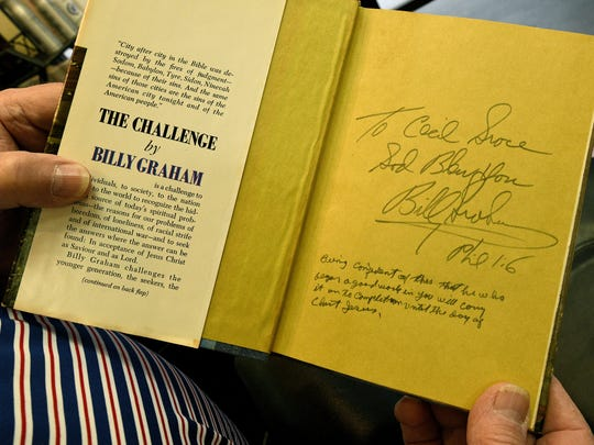 Barber Cecil Groce remembers cutting Billy Graham's