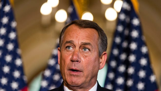Republican House Speaker John Boehner's tenure may be in jeopardy if trends detailed in a recent poll hold up in the 2014 elections.
