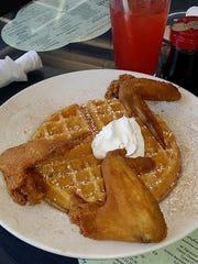 Chicken & Waffles from The Arnett Cafe.