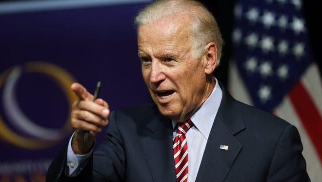 Vice President Biden in Denver in July 2015.