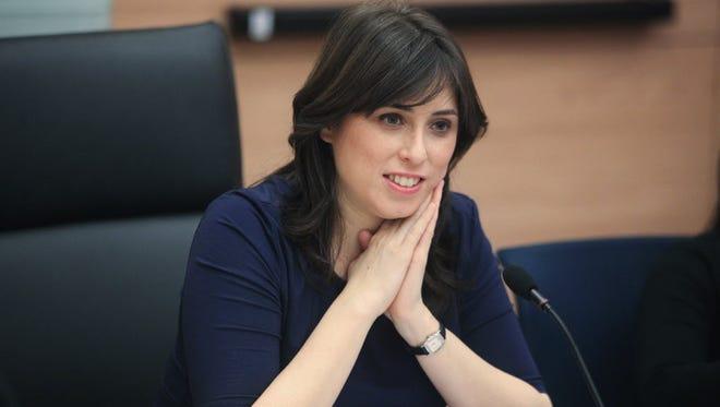 Knesset member Tzipi Hotovely in 2012.
